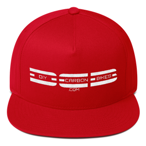 DCB Flat Bill 4 Panel Cap - Various Colors