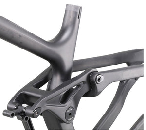DCB F130 Trek Fuel Style Carbon Full Suspension Frame 29er or 27.5+