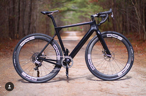 700C or 27.5 DCB GRA700 Exploro Style Carbon Gravel/Road Frame