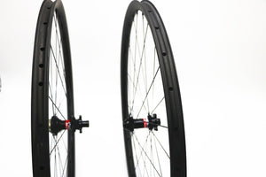 700c DCB Carbon CX/Gravel/Road Disc Wheels with Various Hubs