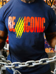 (Pre-Order) BE ICONIC T- Shirt (Navy)