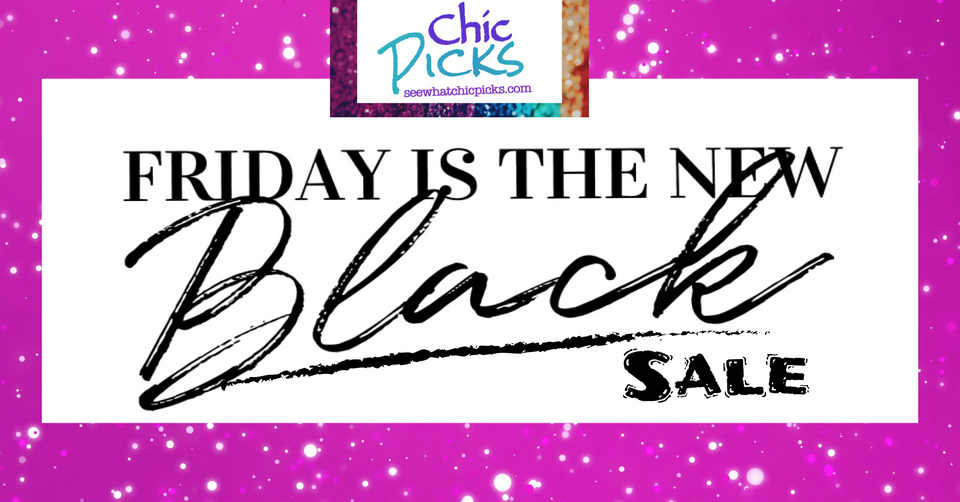 Friday is the New Black Sale