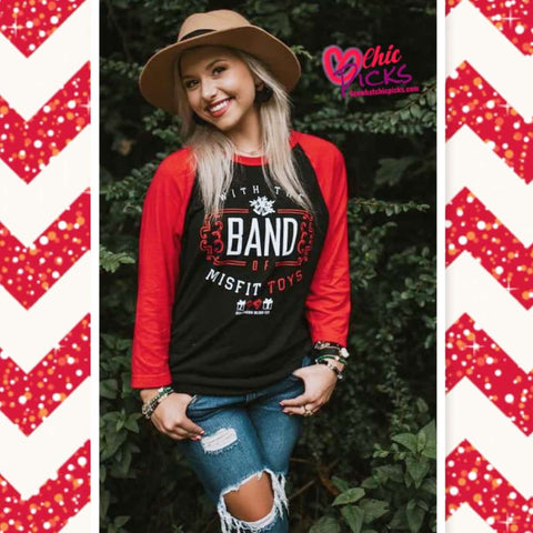 Southern Bliss Company Long Sleeve Graphic Tee The Band Of Misfit Toys At chic Picks
