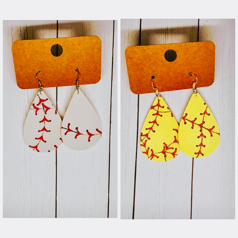 """There's no Crying In Baseball""-Earrings-Chic Picks"