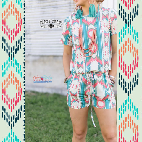 """Row-day Romper""-Romper-Chic Picks"