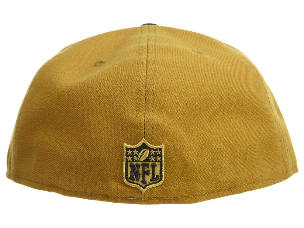 5914f483f45 New Era Gold Collection 59fifty Oakland Raiders Snapback  35 Mens Style    11186580