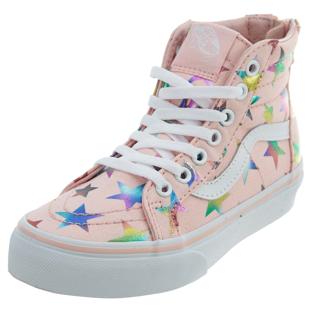 7eb2e6cbb6 Vans Sk8‑hi Zip (Unicorn) School Shoes Little Kids Style   Vn0a3276 ...