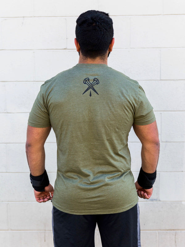 Army Green Essentials Tee