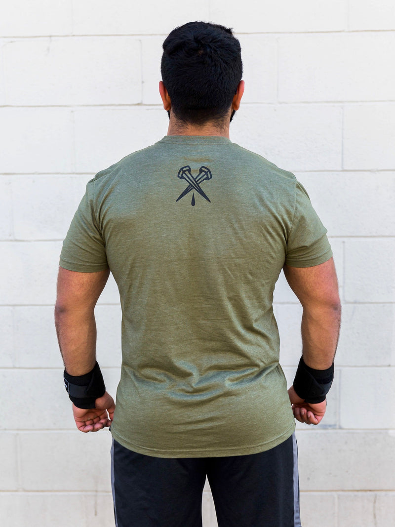 Army Green Essentials Unisex Tee