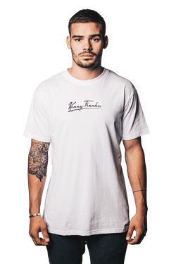 Embroidered Signature Tee