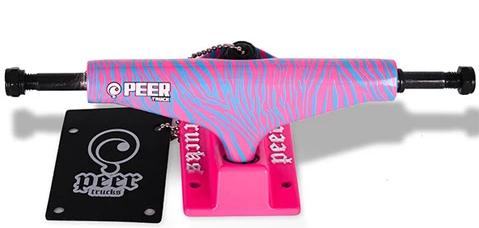 "PEER TRUCKS SET Zebra 5,375""/139mm"
