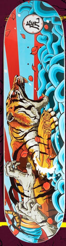 "Justice Skateboards ""TIGER"" size 8""+LIJA"