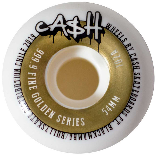 Cash wheels 54mm 102A gold