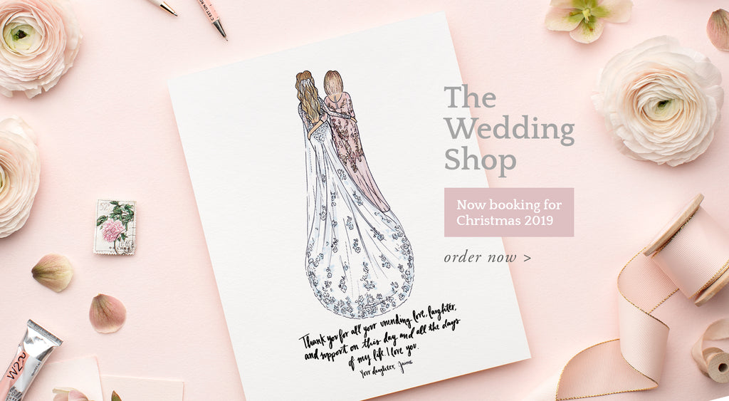 custom mother of the bride wedding shop by JesMarried