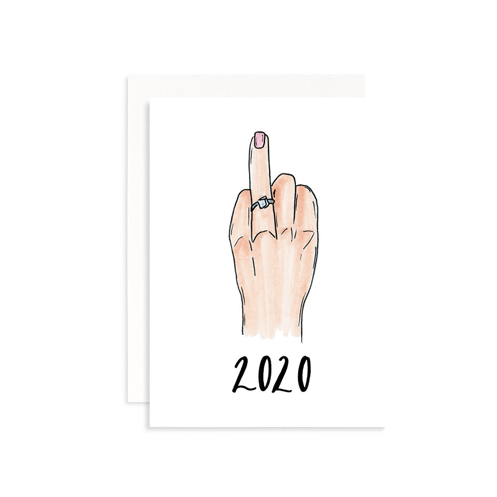 2020 Ring Finger Notecard