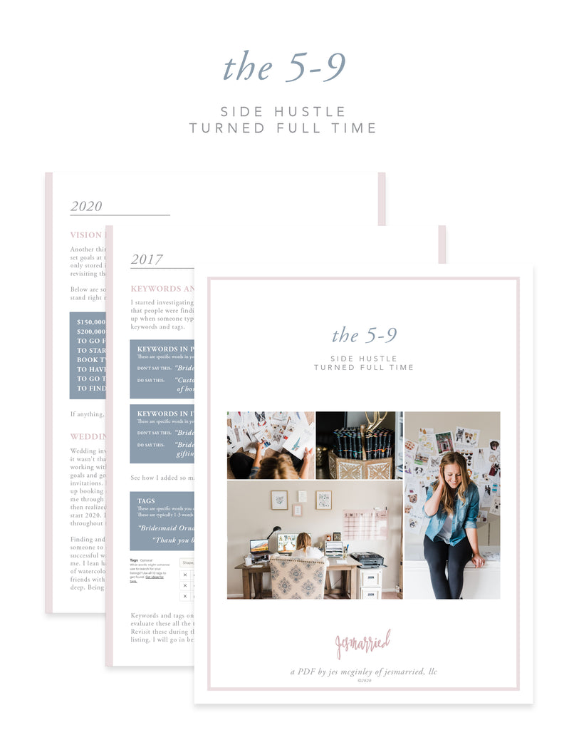 The 5-9: Side Hustle Turned Full Time PDF