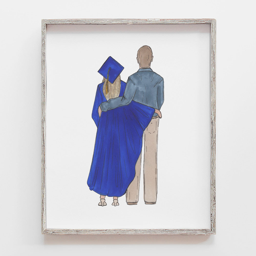 Custom Graduation Drawing