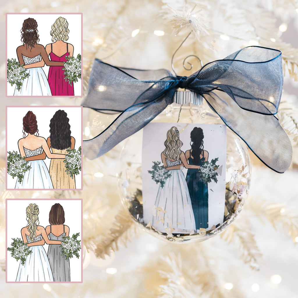 Semi-Custom Bridesmaid Ornament