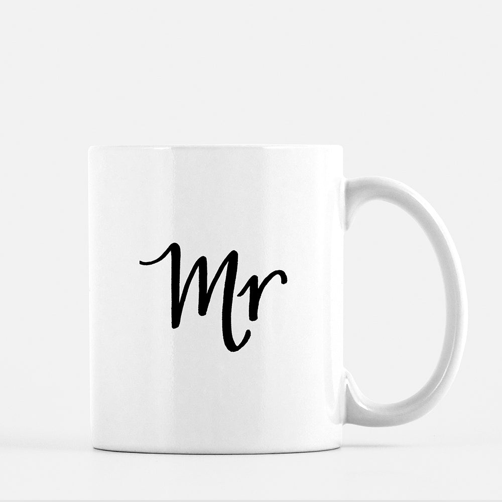 Mr mug for the groom or husband by JesMarried