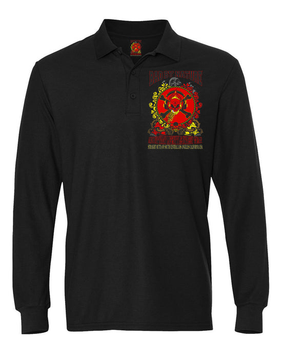 BAD BY NATURE OFFICAL TRADEMARK SUPERIOR POLO SHIRT