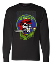 "Load image into Gallery viewer, CAPTAIN ""CUTTHROAT"" CUTLER: MEN'S CHAMPION LONG SLEEVE SHIRT"