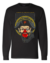 Load image into Gallery viewer, CAPTAIN SCARFACE DEAD EYE: MEN'S CHAMPION LONG SLEEVE SHIRT