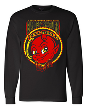 "Load image into Gallery viewer, LiL HELL ""B"" HOY: MEN'S CHAMPION LONG SLEEVE SHIRT"