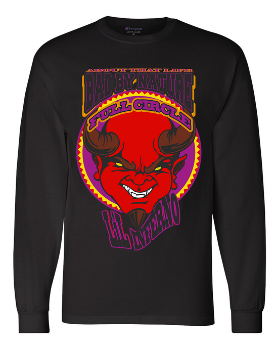LiL INFERNO: MEN'S CHAMPION LONG SLEEVE SHIRT