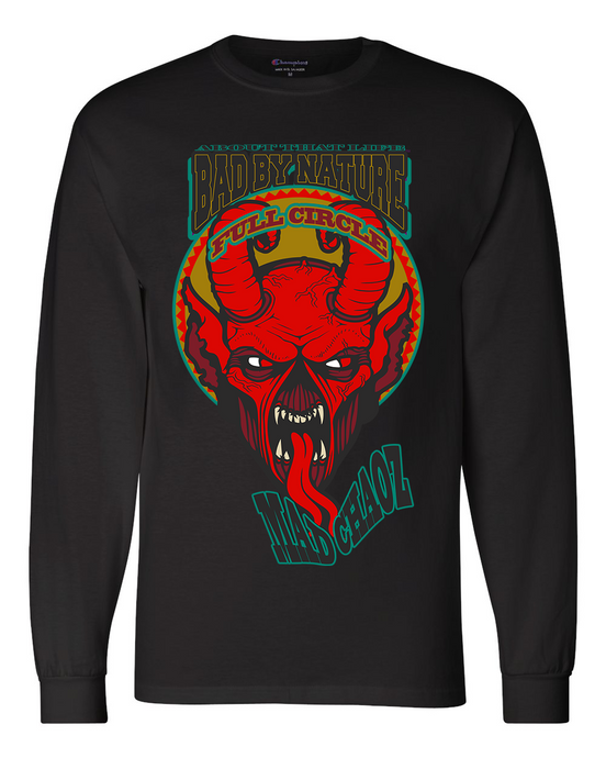 MAD CHAOZ: MEN'S CHAMPION LONG SLEEVE SHIRT