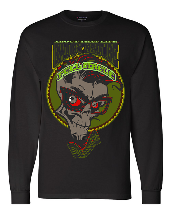 MIXTER SINISTER CREED: MEN'S CHAMPION LONG SLEEVE SHIRT