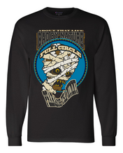Load image into Gallery viewer, PHARAOH THA MUMMY: MEN'S CHAMPION LONG SLEEVE SHIRT