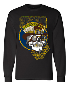 PROFESSOR NUTTY SKULLY: MEN'S CHAMPION LONG SLEEVE SHIRT