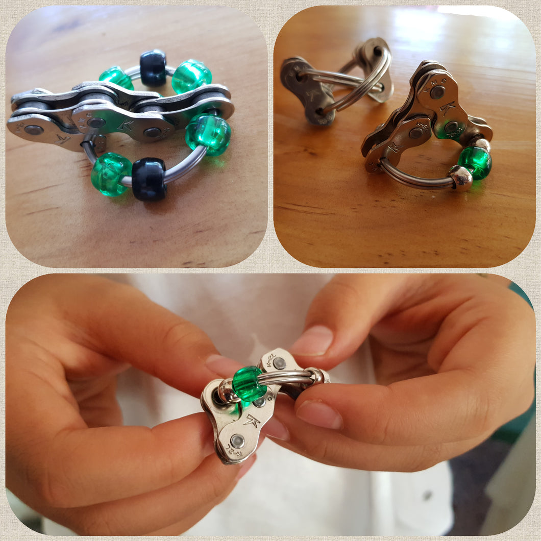 Bike Chain Fidget Set