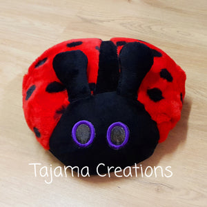 Weighted Ladybug Cushion