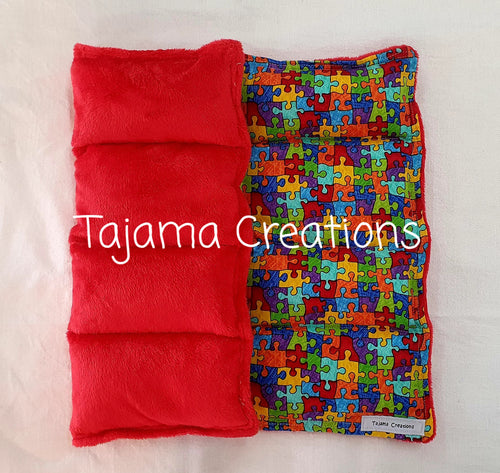 2kg Puzzle small size Weighted Lap Blanket - In Stock
