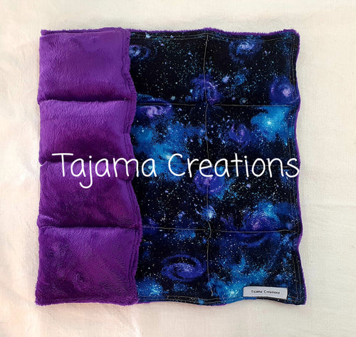 2kg Galaxy small size Weighted Lap Blanket - In Stock