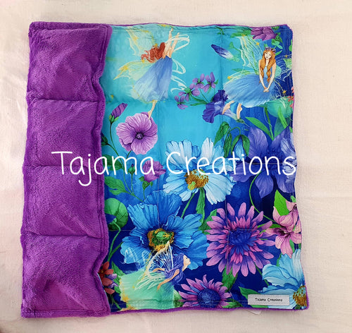 2kg Fairy Garden Small size Weighted Lap Blanket - In Stock