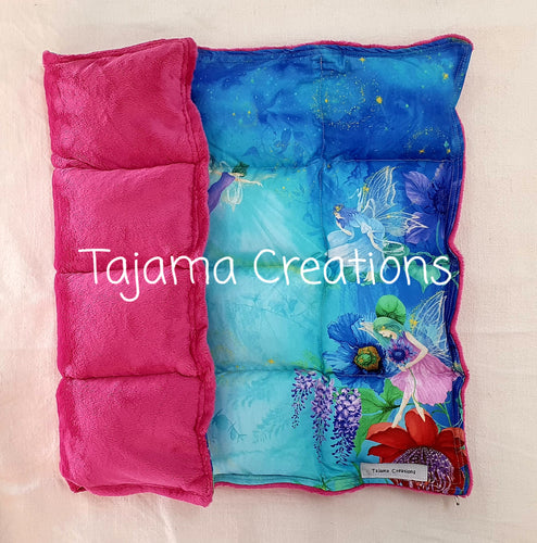 2.5kg Fairy Garden small size Weighted Lap Blanket