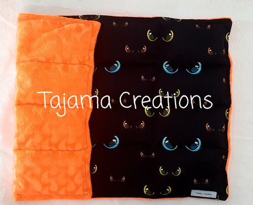 Dragon Eyes 2.5kg Weighted Lap Blanket - In Stock