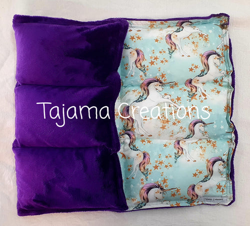 Unicorn 4kg Weighted Lap Blanket