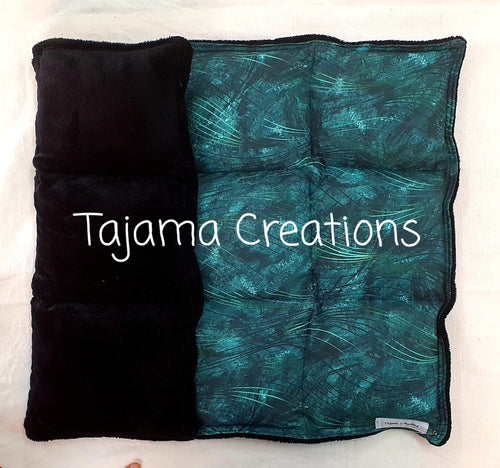 Teal Swirl 4kg Weighted Lap Blanket