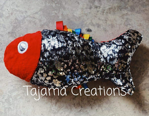Weighted Sequin Fish