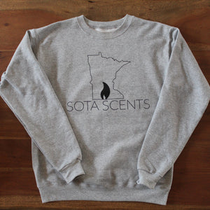 Grey Sota Scents Crew Neck
