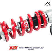โช้คเดี่ยว YSS G-SPORT YAMAHA MSLAZ 150  BLACK/RED (MX302-265TR-17)