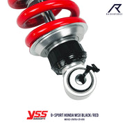 โช้คเดี่ยว YSS G-SPORT HONDA MSX BLACK/RED (MG302-250TRJ-25-859)