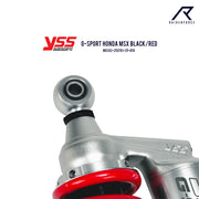 โช้คเดี่ยว YSS G-SPORT YAMAHA R3,R15,MT03 BLACK/RED (MX302-280TRL-18-859)