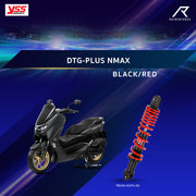 YSS DTG-PLUS NMAX BLACK / RED (TB220-335TL-03)