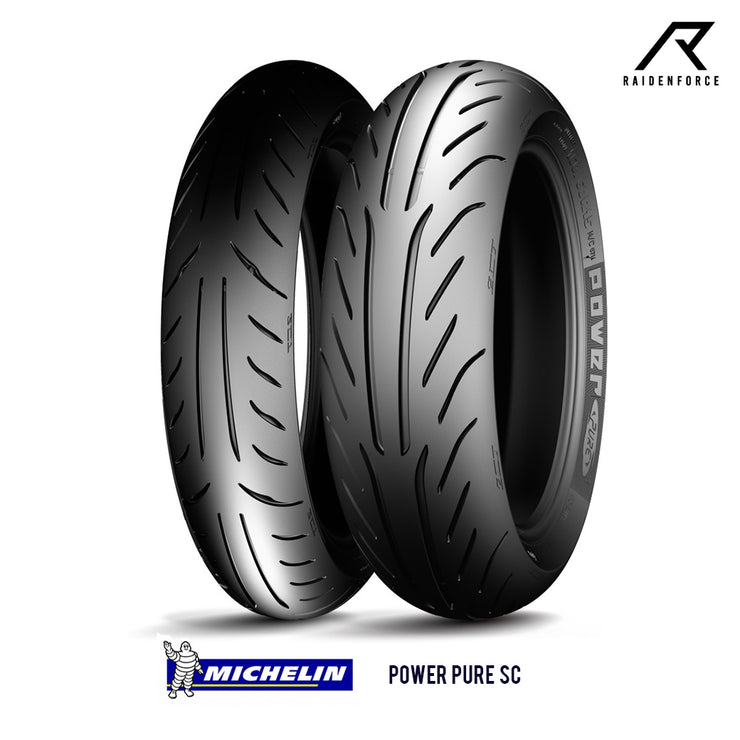 ยางนอก Michelin Power Pure SC