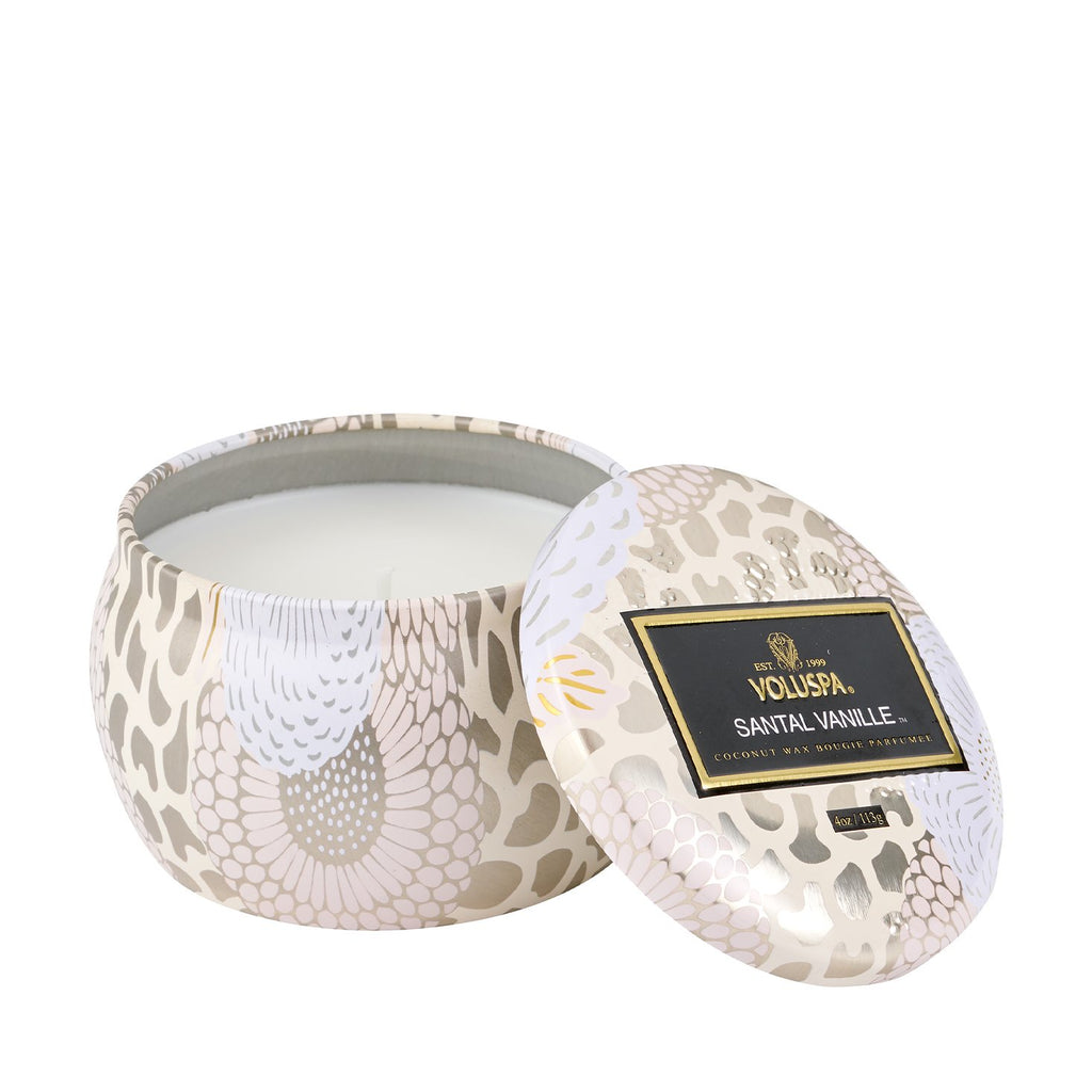 Voluspa Santal Vanille Decorative Candle