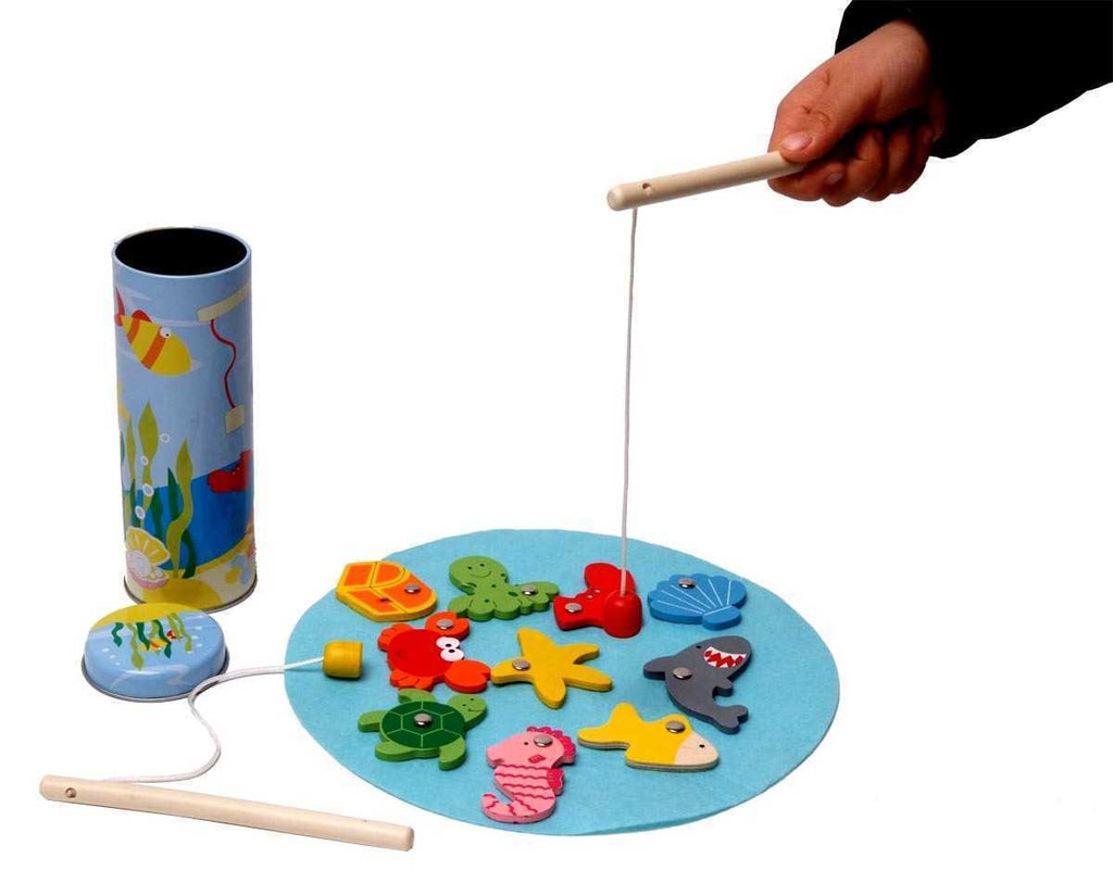 Fishing Game Tin Box